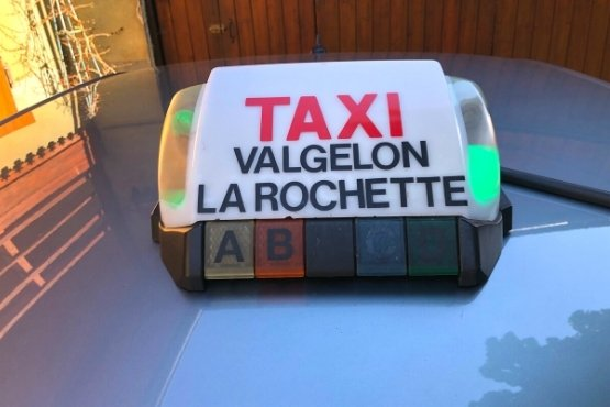 Hey lo taxi Valgelon La Rochette lumineux